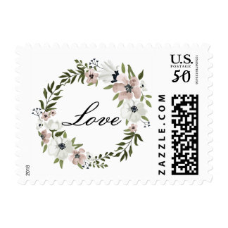 Lovely Floral Love Stamp