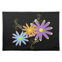 lovely floral placemats
