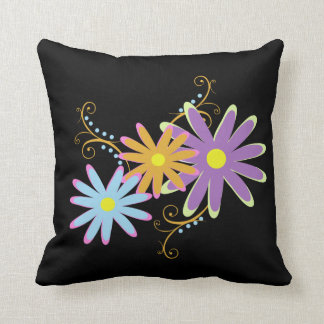 lovely floral throw pillows
