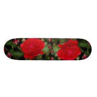 Lovely Floribunda 'Showbiz' Skateboard Deck