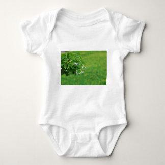 Lovely flower baby bodysuit