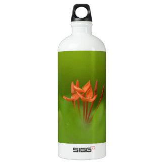 Lovely flower in the world aluminum water bottle