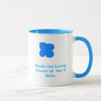 Lovely Flower Mug