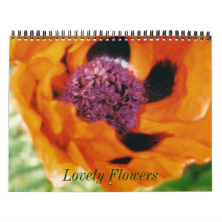 Lovely Flowers Calendar