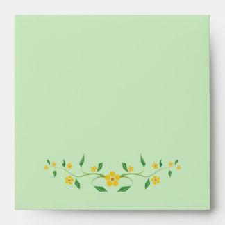 Lovely Flowers Envelope