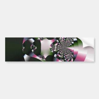 lovely_fractal bumper sticker