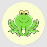 Lovely Frog Stickers