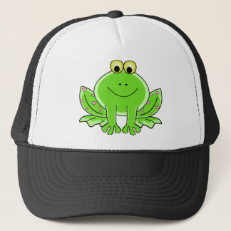 Lovely Frog Trucker Hat