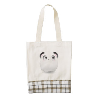 Lovely Furry Creature Zazzle HEART Tote Bag