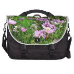 lovely garden flowers 03 laptop messenger bag