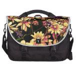 lovely garden flowers 06 laptop commuter bag