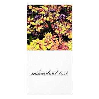 lovely Garden flowers 06 Photo Card
