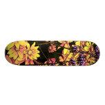 lovely Garden flowers 06 Skateboard