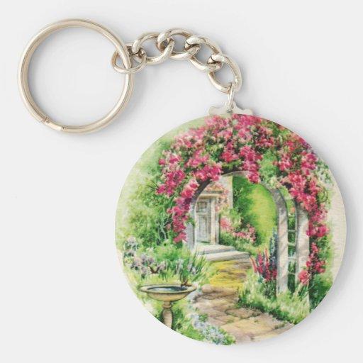 Lovely Garden Keychain