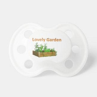 lovely garden pacifier