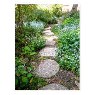 Lovely Garden Path Postcard