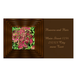 lovely Garden pics 05 Double-Sided Standard Business Cards (Pack Of 100)