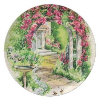 Lovely Garden Plates