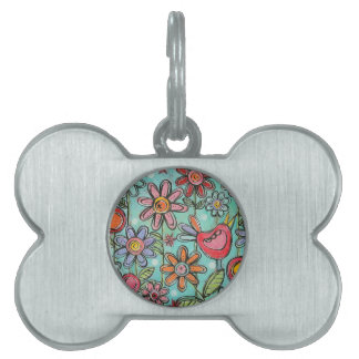 Lovely Garden Sweet Pet Tag