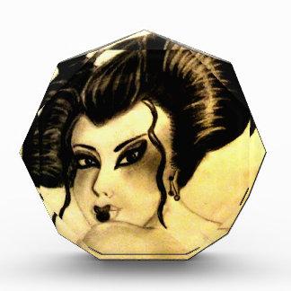 Lovely Geisha Acrylic Award