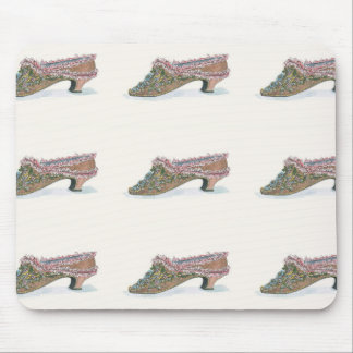 Lovely Georgian 18th Century Shoes Mousepad