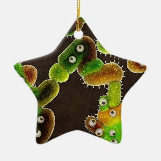 Lovely Germs - Christmas Ornament