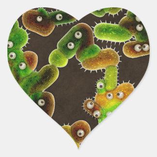 Lovely Germs - Heart Sticker