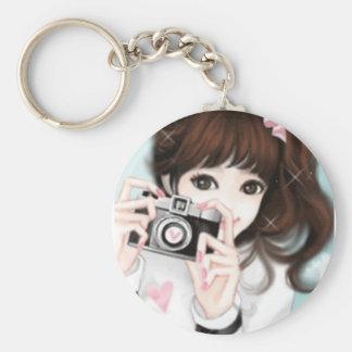 Lovely girl key chain