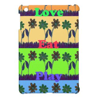 Lovely Girly Hakuna Matata colors Gifts.png iPad Mini Cases