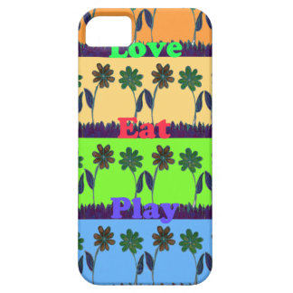 Lovely Girly Hakuna Matata colors Gifts.png iPhone SE/5/5s Case