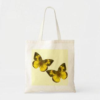 Lovely Golden Butterflies Budget Tote Bag