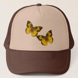 Lovely Golden Butterflies Trucker Hat