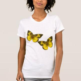 Lovely Golden Butterflies Tanktop
