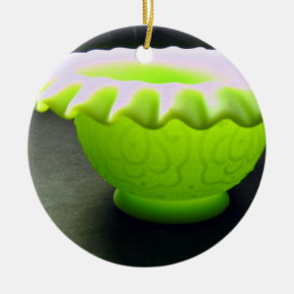 Lovely green bowl ornaments
