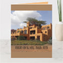 Lovely greeting card of the African Heritage House