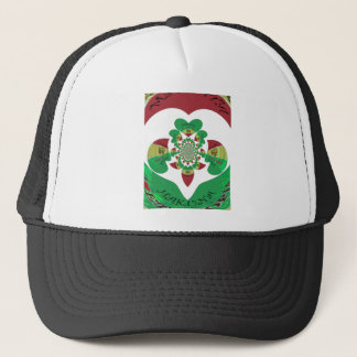 Lovely Hakuna Matata I love Ethiopia Hearts Colors Trucker Hat