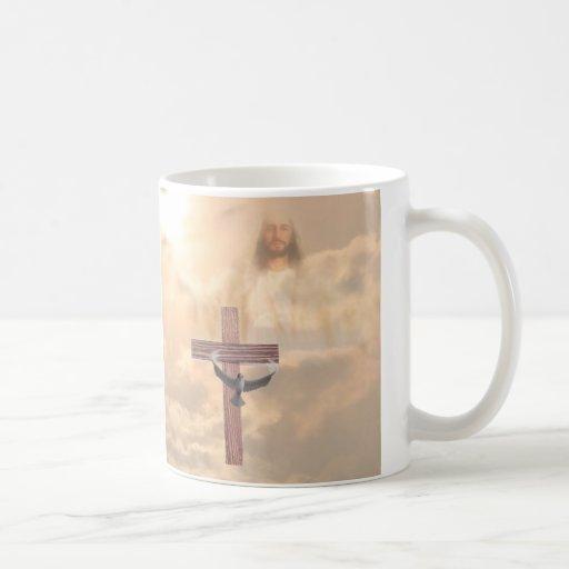 Lovely He is Risen Coffee Mug