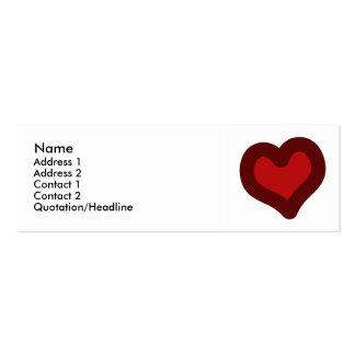 Lovely Heart Business Card