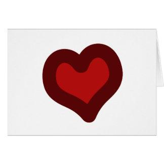 Lovely Heart Greeting Card
