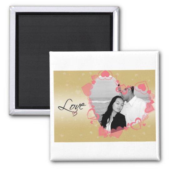 Lovely Heart Frame Magnet
