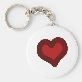 Lovely Heart Keychain