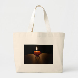 Lovely Heart Large Tote Bag