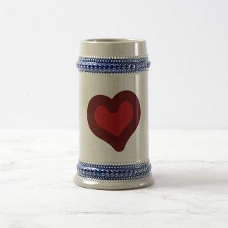 Lovely Heart Coffee Mug