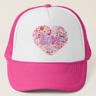 Lovely Heart Trucker Hat