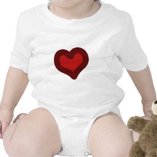 Lovely Heart Rompers