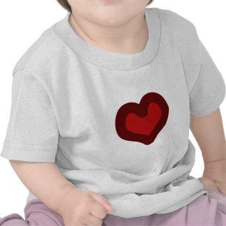 Lovely Heart Tee Shirts