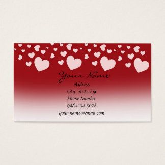 Lovely Hearts Business Card