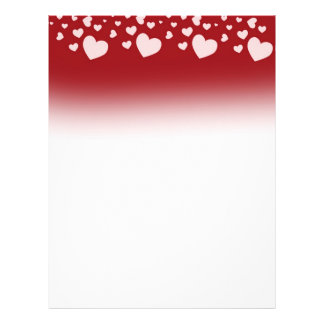 Lovely Hearts Letterhead