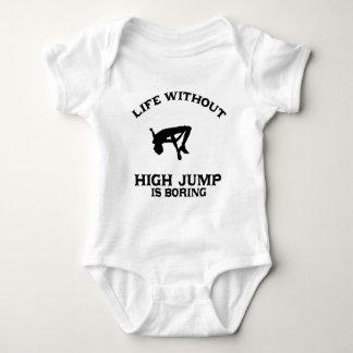 Lovely High Jump DESIGNS Baby Bodysuit