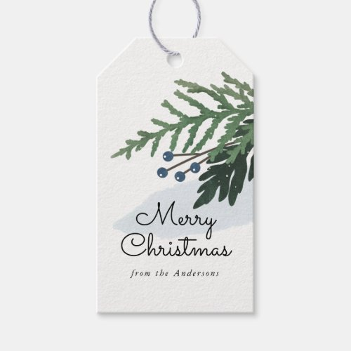 Lovely Holiday - Christmas Gift Tag